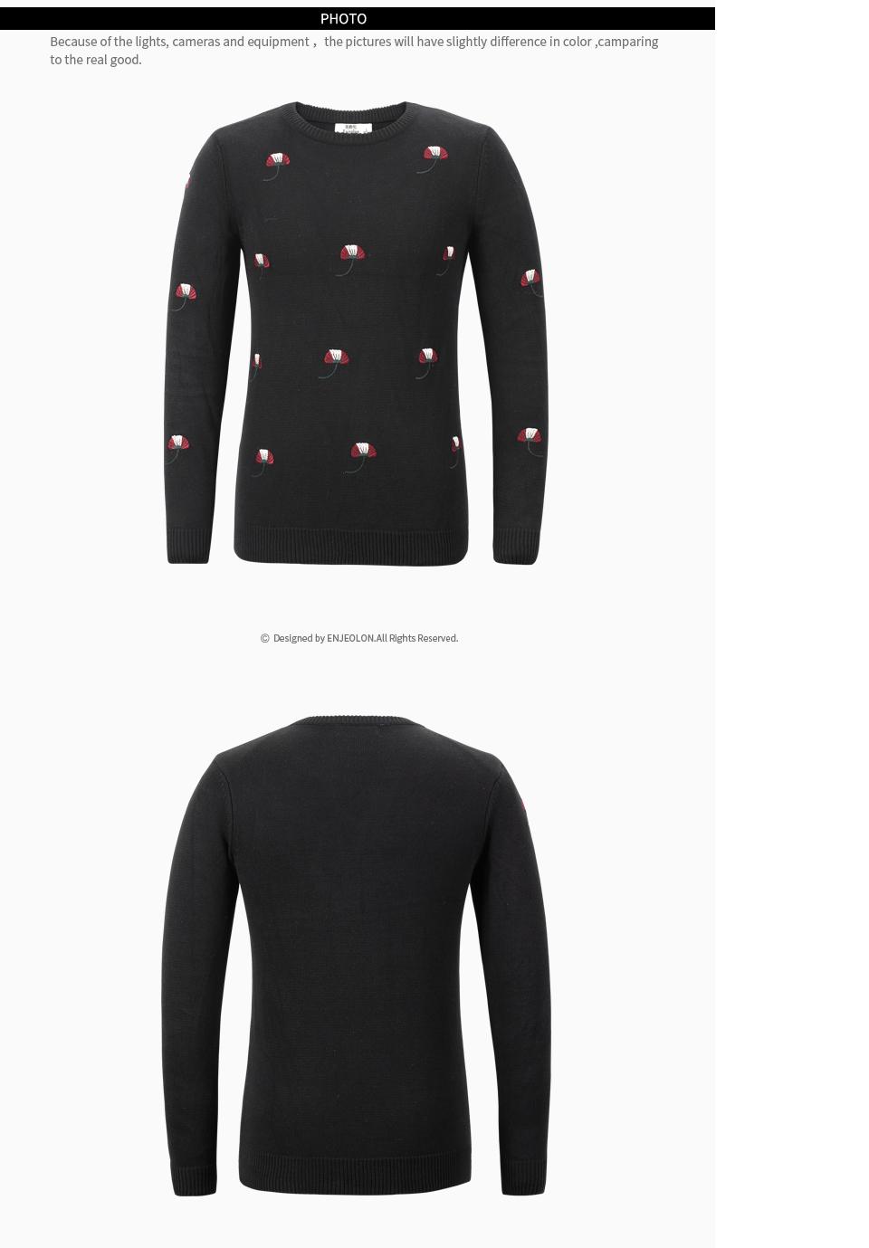 HTB1DLsHbHwTMeJjSszfq6xbtFXa8 - Enjeolon brand top fall winter warm knitted pullovers Sweater man 100 Cotton pattern pullober o-neck pullover Sweater men MY3227