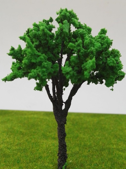 8 cm simulation tree model sand table model of the wire material supplier site making model simulation tree
