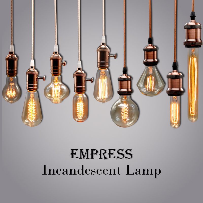 vintage edison light bulb e27 220v ampoule filament lighting retro lamp decorative incandescent. Black Bedroom Furniture Sets. Home Design Ideas