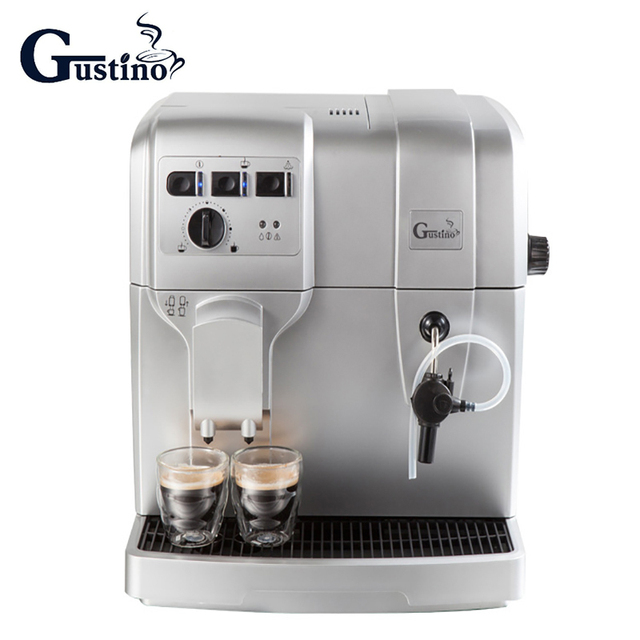 Gustino Automatic Coffee Maker 19pa 220v Electric Milk Frother With Stainless Steel Container For Home Or