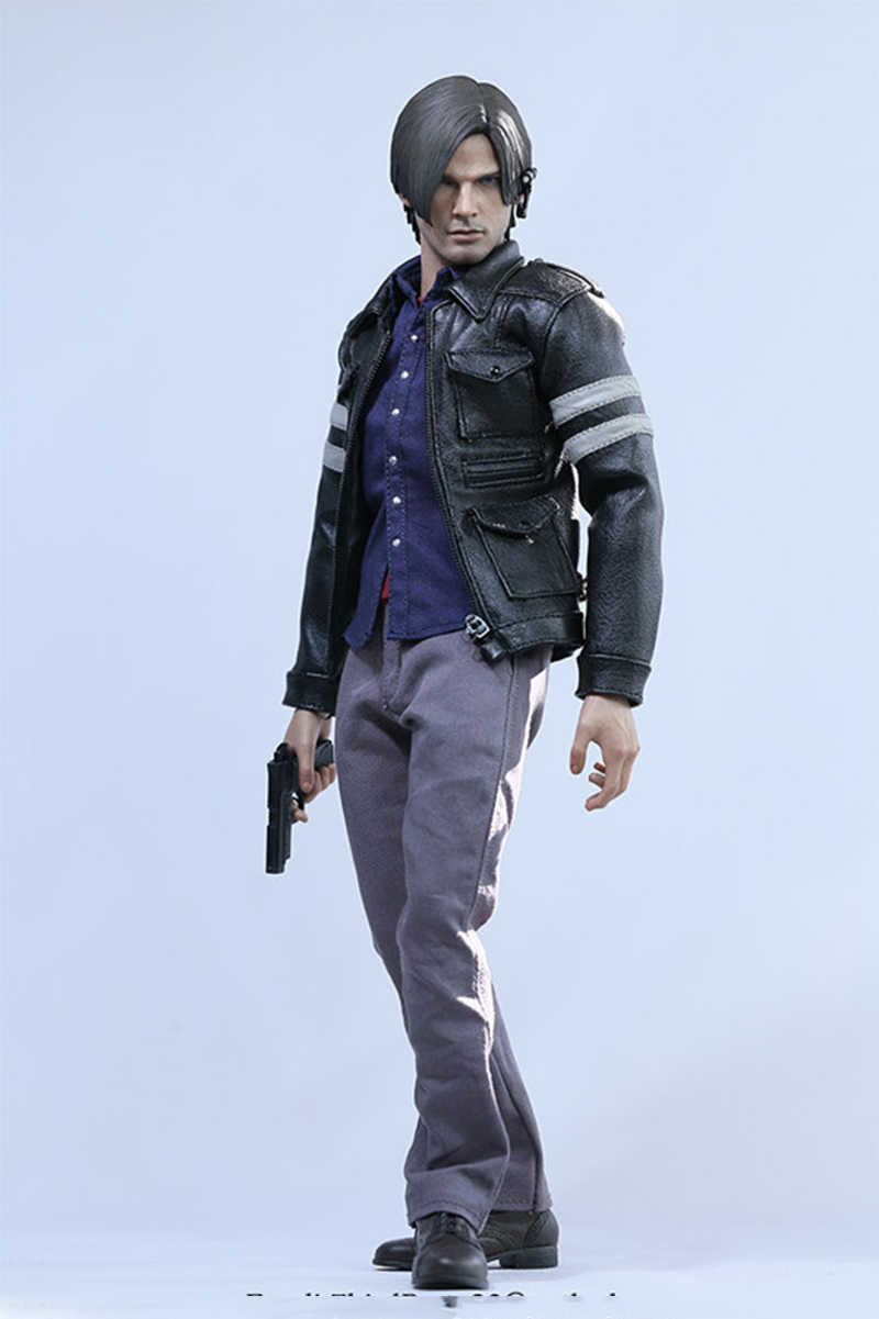 1 6 Scale Male Figure Clothes Set Model Resident Evil 6 Leon Scott Kennedy Clothing For 12 Collectable Figure Body