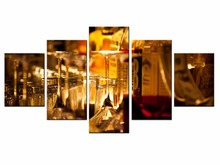5 Panel Modern Printed Classic poster series Painting Picture Canvas Art for Living Room No Frame /still life-40