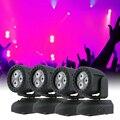 led light dj laser christmas lights c Moving Head Light Wash Effect Stage Lamp Support Sound Activation
