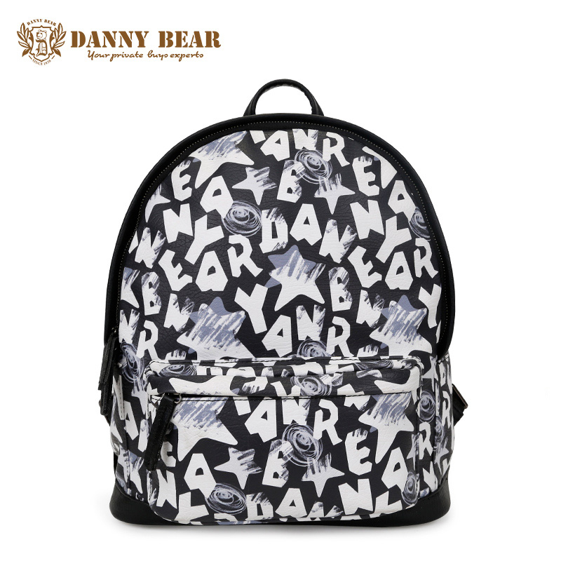 DANNY BEAR Female Cute Travel Backpack Cheap Vintage School Backpacks For Teenager girls Fashion Women Leather Back Pack bags рюкзак danny bear db14859 3