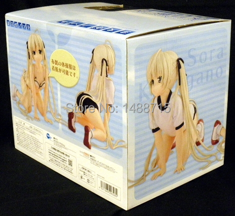 New Hot Alter <font><b>1/4</b></font> Scale Yosuga no Sora Haruka Kasugano Sora Gym Suit Kneel <font><b>Sexy</b></font> Cute Action <font><b>Figure</b></font> Toys Box image