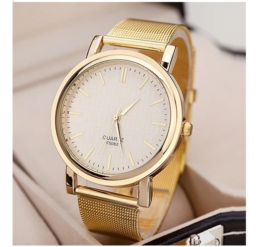 High Quality Golden Metal Band Watch Women WOMAGE New Fashion Luxury Gold Color wristwatch Dropshipping 50p кастрюля taller tr 1069