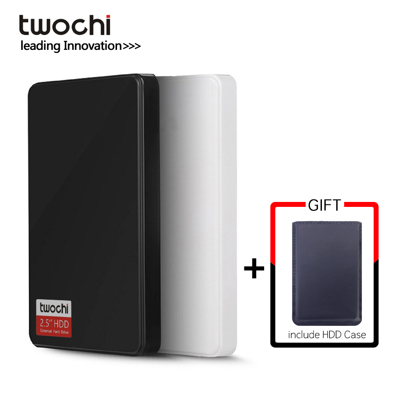 TWOCHI External-Hard-Drive Disk-Plug USB3.0 500GB-STORAGE 160GB 250GB Portable Hdd 80GB