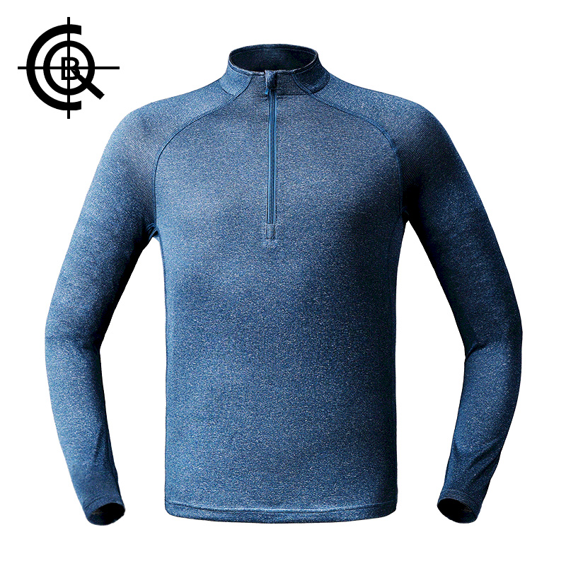 CQB Outdoor Sports Merino Wool High Elastic T-shirt Men Thermal Long Sleeve Quick Dry Breathable Underwear LYF0303 цены онлайн