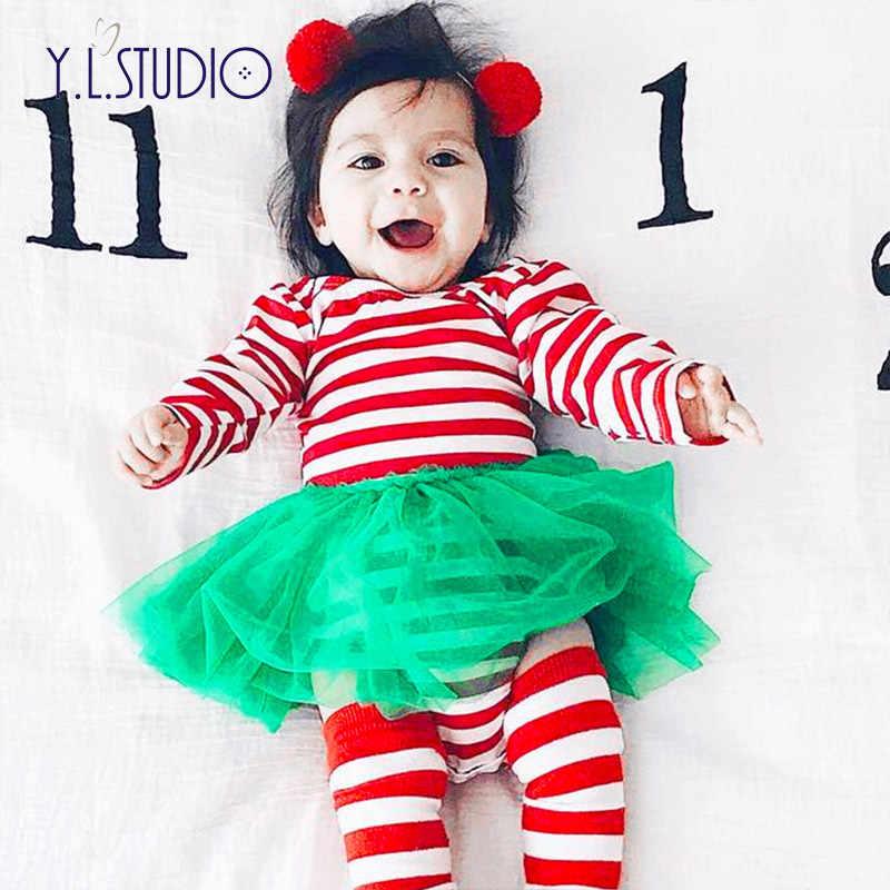 Фото Для новорожденных для маленьких девочек боди Рождество Близнецы крошечные
