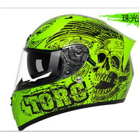 New Arrival TORC Motorcycle Helmet Fashion Design Full Face Racing Helmets ECE DOT Approved Capacete Casco