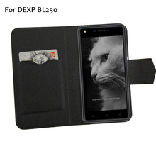 5 цветов хит! DEXP BL250 чехол для телефона кожаный чехол, заводская цена защитный полный Флип Стенд кожаный чехол для телефона s