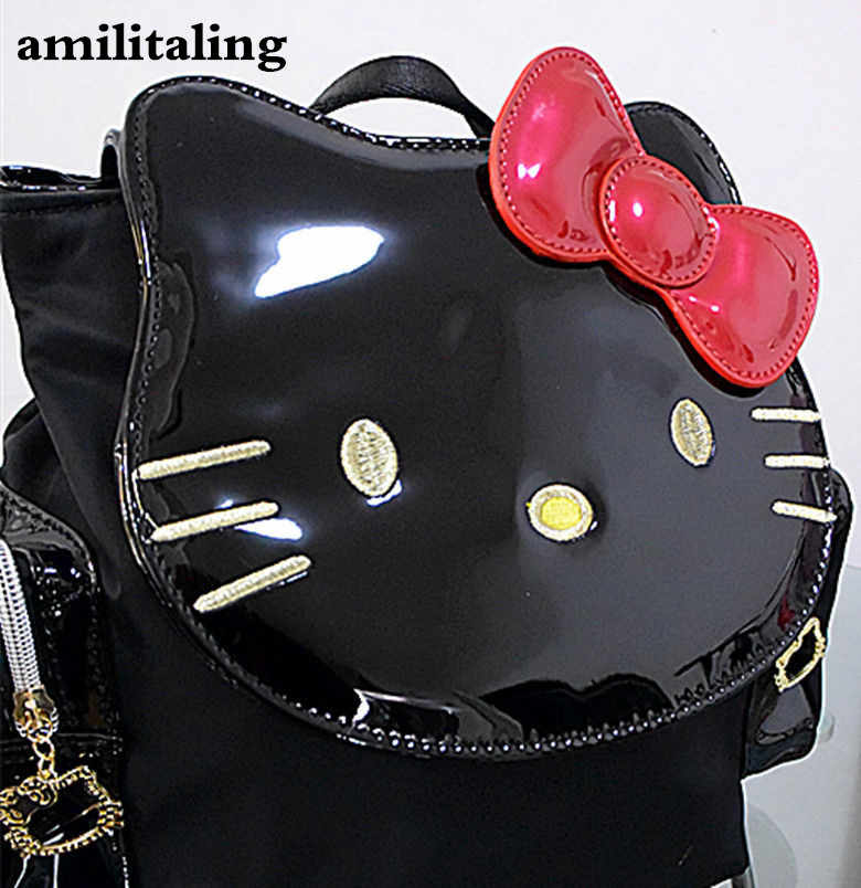 Novas Mulheres saco Hellokitty Shoulder bag Handbag Purse CC-14523B