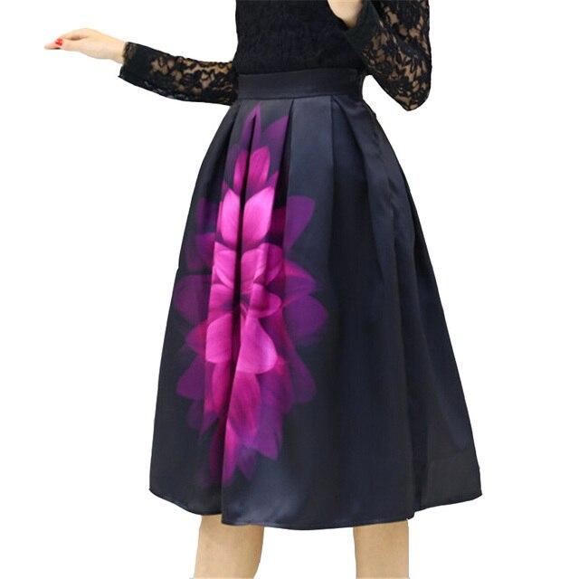 676d55124662 Новая Женская Осень Бальное платье Юбка Весна Женщин Юбки Ретро Фэнтези  Большой ...