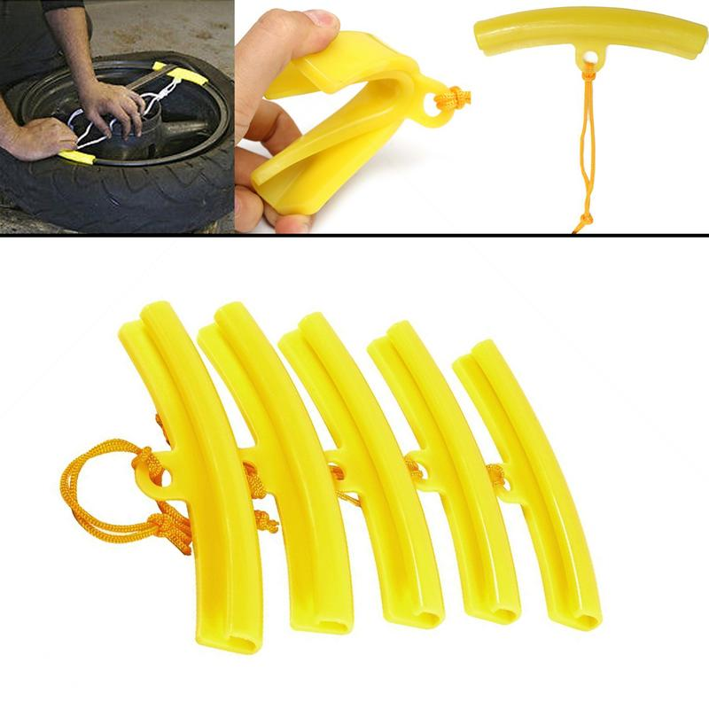 1PC Tire Changer Tool Guard Rim Protector Tyre Wheel Changing Rim Edge Yellow CWH454