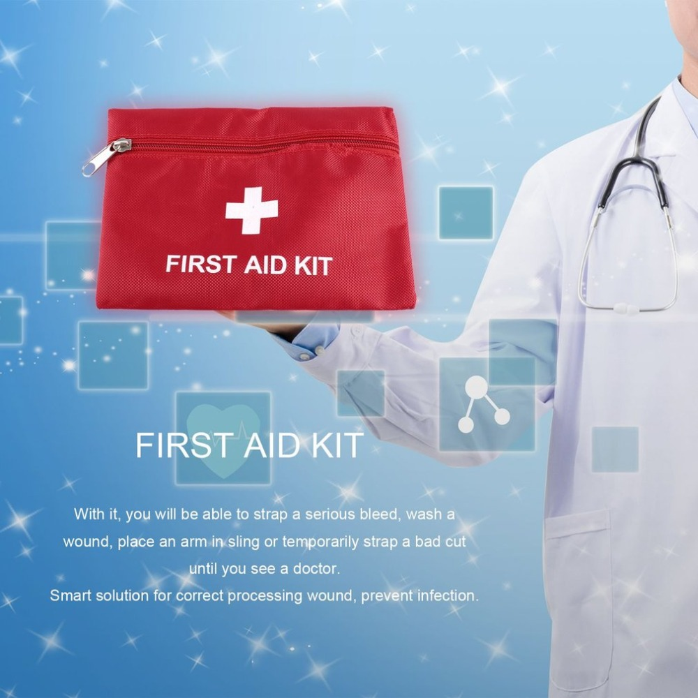 1.4L First Aid Kit Portable Emergency Bag For Hunting Camping Travel Sport Rescue Medical Treatment Outdoor First Aid bag medical orthopedics fracture macromolecule fixed support first aid assula for animal
