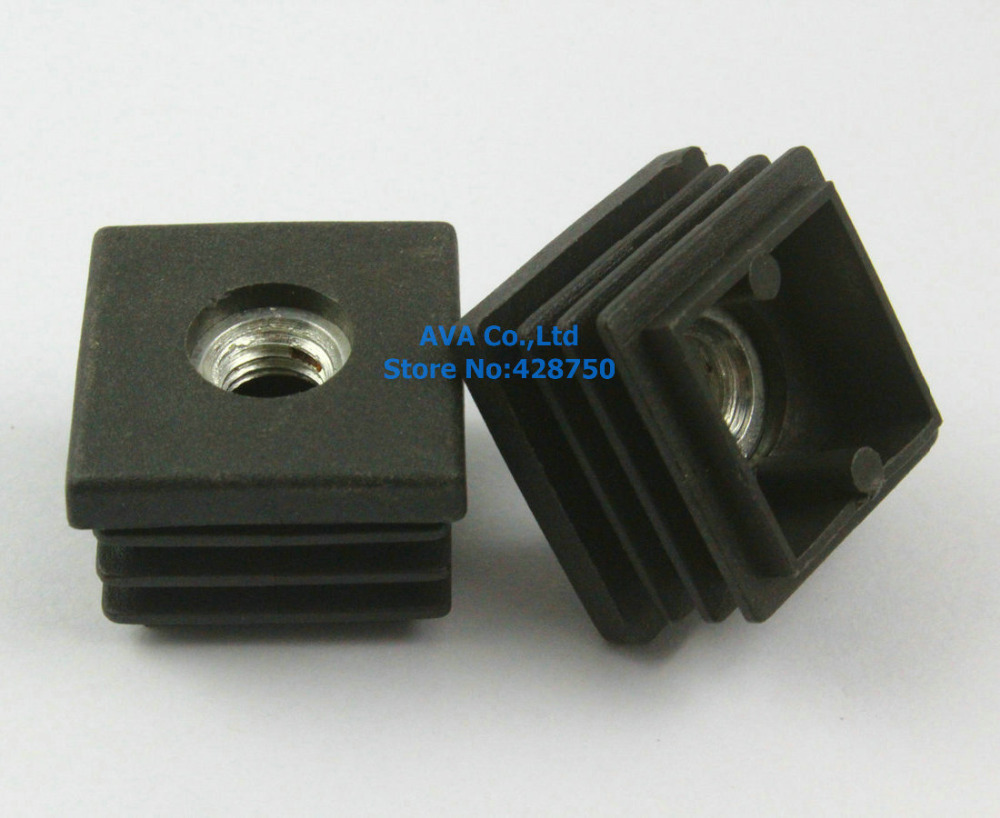 Pieces m thread nut mm square plastic insert cap