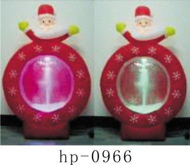 Надувной Рождественский Санта Клаус Снеговик Декоративный Рождественский олень для дома детские игрушки надувные рождественские игрушки - 4
