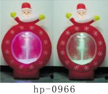 Gonflable noël père noël bonhomme de neige cerf décoration de noël pour la maison enfants jouets gonflables jouets de noël - 4