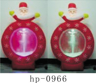 Inflatable Christmas Santa Claus Snowman Deer Christmas Decoration for Home Children Toys Inflatable Christmas Toys - 4