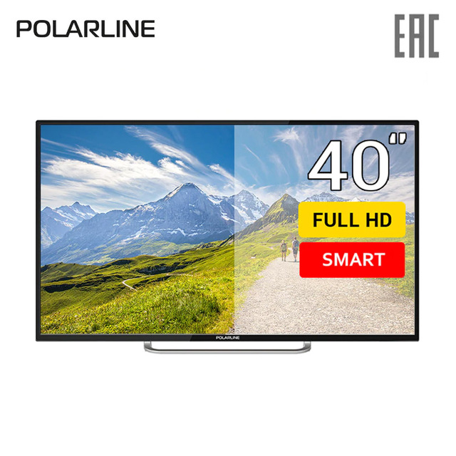 "Телевизор 40"" Polarline 40PL11TC-SM FullHD SmartTV"