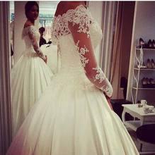 цена на Vintage Cap Sleeves V-neck Lace Mermaid Wedding Dress Plus Size Bridal Gowns 2015 Hot Sale