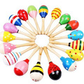 Cute sand hammer Rattle Baby Educational toy Kid play toy Rattle Intellectual Development/Parent-child Communicate/Gift 0~3 year