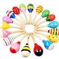 Lindo martillo de la arena de juego de Niños juguete Sonajero Sonajero Bebé juguetes educativos Desarrollo Intelectual/Padre-hijo Comunicación/Regalo 0 ~ 3 año