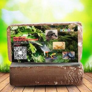 Image 1 - Bloque de fibra de coco Natural para sustrato de reptil Pet Terrario de lagarto