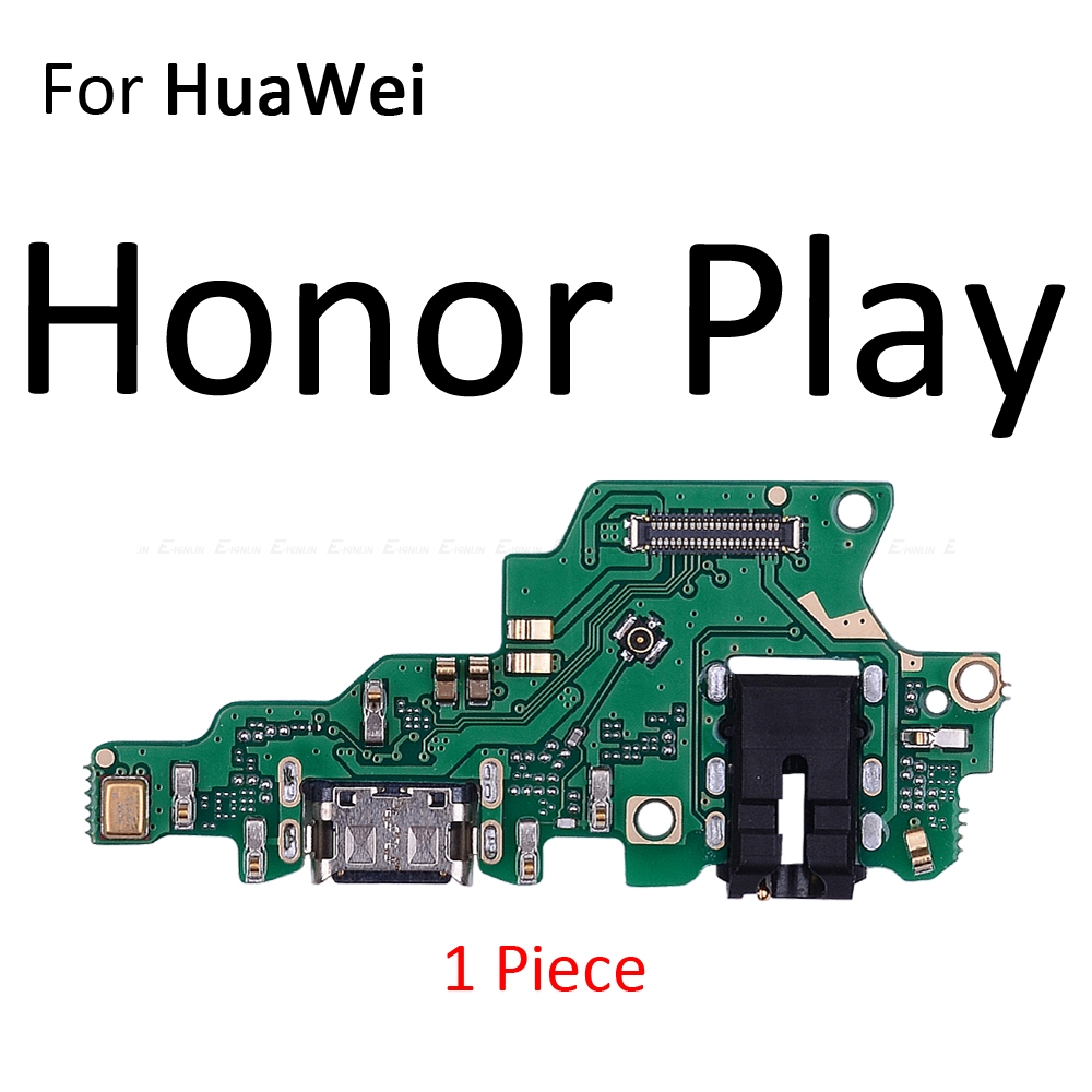 Image 2 - Charging Port Connector Board Parts Flex Cable With Microphone Mic For HuaWei Honor Play 8A 7A 7C 7X 7S 6A 6C 6X 5C Pro-in Mobile Phone Flex Cables from Cellphones & Telecommunications