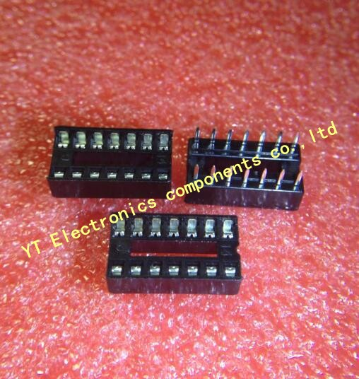 Free shipping 510pcs/lots 14pin DIP Adaptor Solder Type IC sockets IN STOCK Best quality