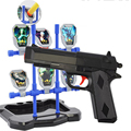 2016 Real Sale Boys High Quality Pump Pistol Airsoft.gun Airgun Soft Bullet Gun Paintball Toy Cs Game Shooting Water Crystal