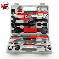 44PCS/set Mountain Bike Patchs Bicycle Accessories Maintenance Repair box diagnostic Hand Tools Kit Cycling Chain Case Hot DN176