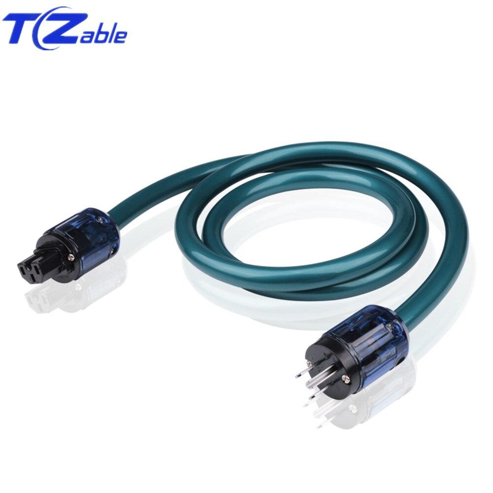 Câble d'alimentation Hifi mâle femelle prise électrique N8 avec US 037 connecteur haute Performance prise pour amplificateur DVD Audio vidéo cordon
