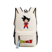 New Dragon Ball Z Backpack Anime Son Goku oxford Schoolbags Fashion Unisex Travel Bag