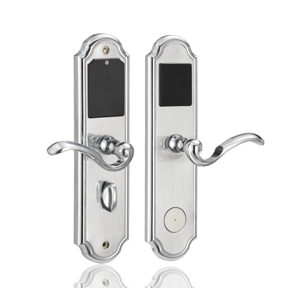 European style RFID Card Smart Lock Digital Keyless Intelligent Electronic Hotel Lock Door