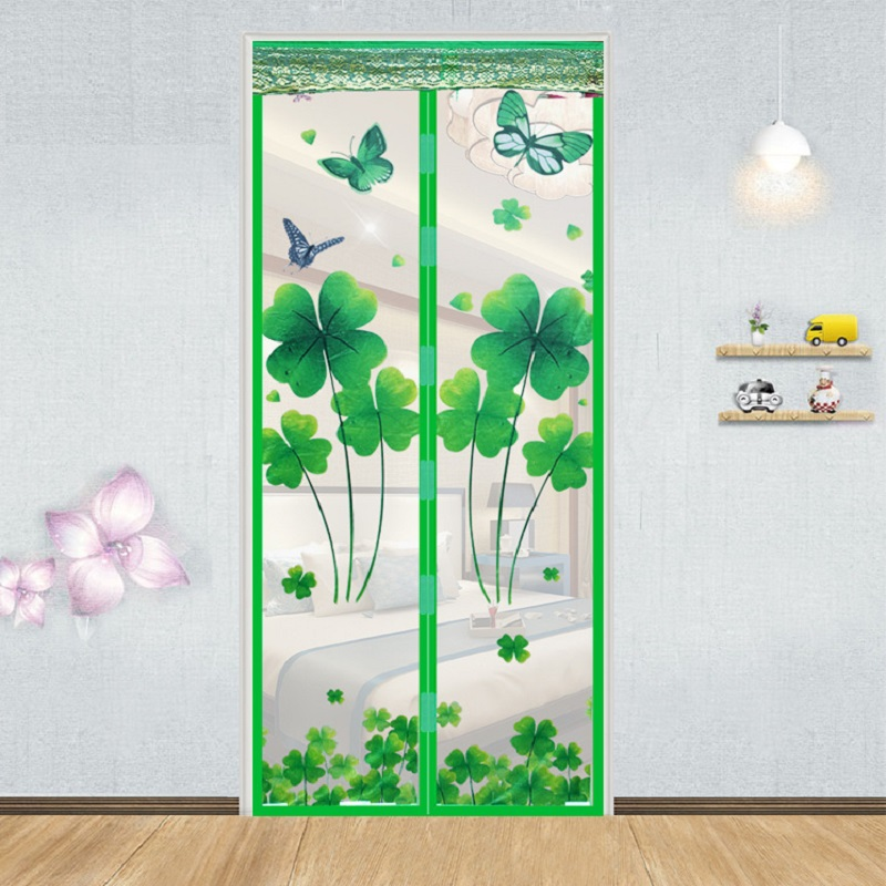 Hot Summer Anti Mosquito Magnetic Soft Screen Door Curtain Insect Mesh Fly Bug Protect Kitchen Window Organza Scree 3 Colors
