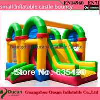 Hot Cool Inflatable Bouncer House, Good Gift For Kids. Inflatable Castle With Factory Price