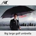 NX креативный большой двухслойный зонт для гольфа  от 145 см до 150 см  мужской зонт  ветронепроницаемые длинные зонты для мужчин  для бизнеса
