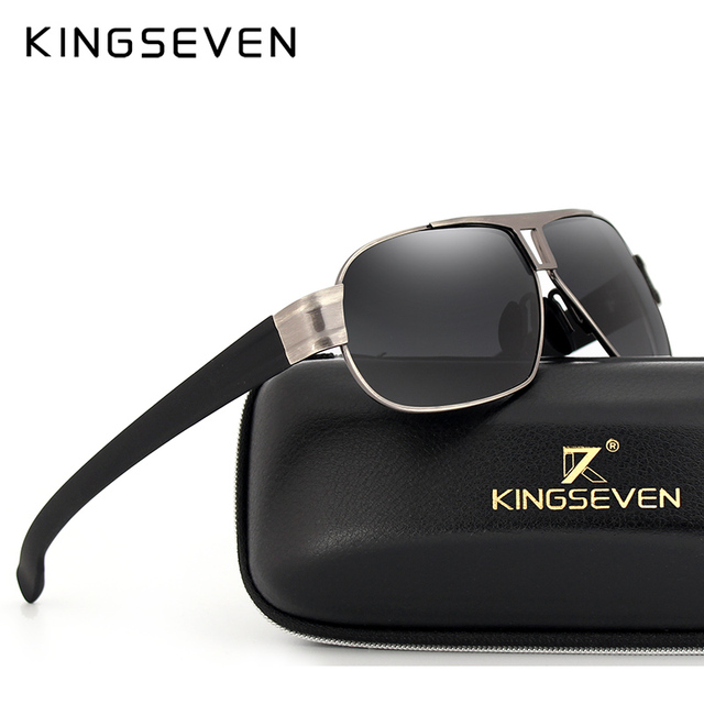 KINGSEVEN Fashion Driving Sun Glasses for Men Polarized sunglasses UV400 Protection Brand Design Eyewear High Quality  1