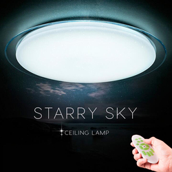 LED Ceiling Lights Color Change Ceiling Lamps 25W 400mm Remote Control 60W 550mm Dimmable Bedroom Living Room Starry Sky