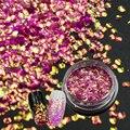 Nueva Llegada 1 Botella Colorido 3D Nail Art Lentejuelas Sirena Pegatinas Brillantes Brillo de Uñas Consejos Decoración de Uñas de Arte Herramientas # TL-D