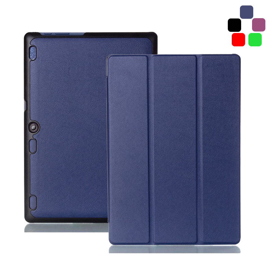 For Lenovo Tab 2 A10-70 F Case Leather Smart Cover For Lenovo Tab 2 A10-30 A10-70F A10-70 A10-70L 10.1 Foldable Case+ Stylus Pen case for lenovo tab 4 10 plus protective cover protector leather tab 3 10 business tab 2 a10 70 a10 30 s6000 tablet pu sleeve 10
