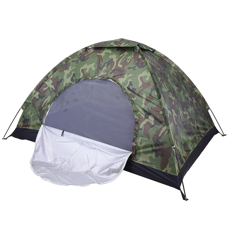2 Person Camouflage Military Tent Sun Shade Shelter Outdoor Hiking Travel Fishing C&ing Beach Party Childrens  sc 1 st  AliExpress.com & Online Buy Wholesale tent one person military from China tent one ...