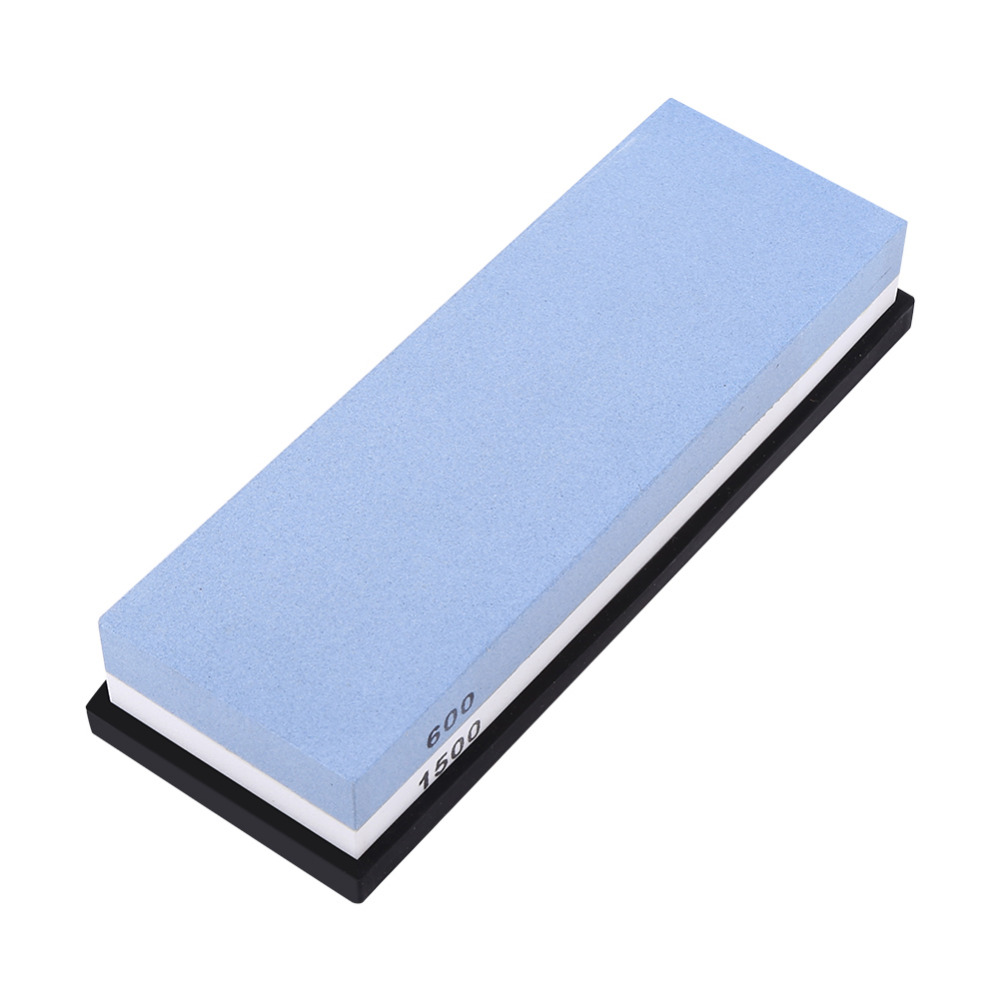 цена на Newstyle Sharpening Stone Whetstone Blade Sharpener Sharpening Tool Dual Sides 600# 1500# Grit High Quality