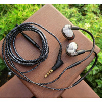 KINERA BD005 Detachable Cable Wired In Ear BA DD Headset Monitor HIFI Sports Music Earphones For