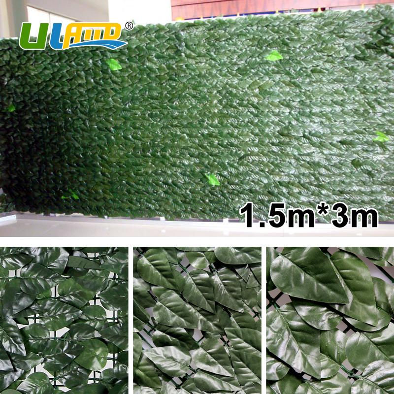 uland jardn valla de plstico 1 unids 150 cm 300 cm faux pantalla valla de