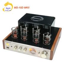 Nobsound MS-10D MKII Tube Amplificateur Hifi Stéréo Amplificateur de Puissance 25 W * 2 Vide Tube AMP Support Bluetooth et USB 110 V ou 220 V