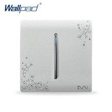 Free Shipping, Karpinski Luxury Wall Switch Panel, 1 Gang Way, Light switch,C30 Series ,110~250V