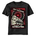 Star Wars Unirse Al Imperio Cartel de la Propaganda de Los Hombres harajuku T camisa Para Hombre 100% Algodón Camiseta Divertida Camiseta de Impresión Personalizada camisetas