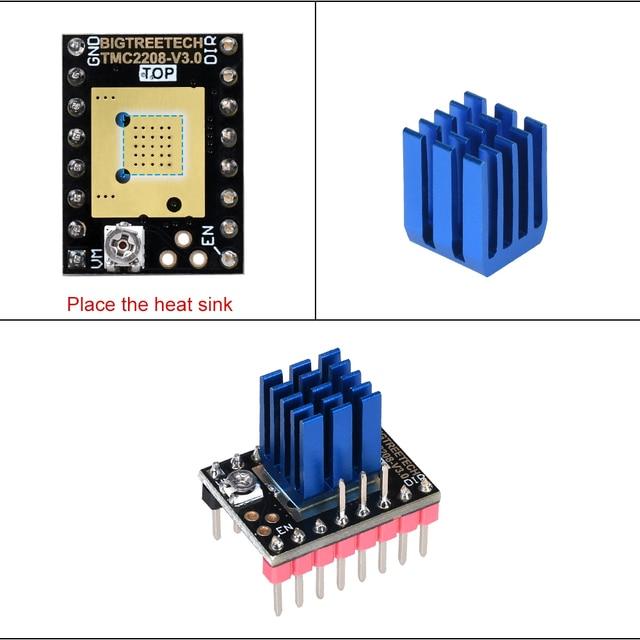 BIGTREETECH TMC2208 V3.0 Stepper Motor Driver UART 3D Printer Parts TMC2130 TMC2209 For SKR V1.3 V1.4 MKS GEN Ramps 1.4 MINI E3 2